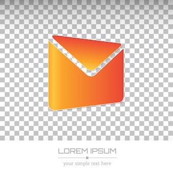 Logotipo de empresa mínima creativa.