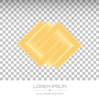 Logotipo de empresa minimalista creativo.
