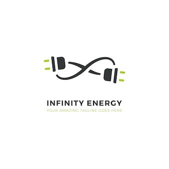 Logotipo de energía infinita