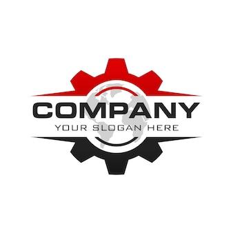 Logotipo de engranaje