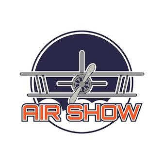 Logotipo de la exposición aérea