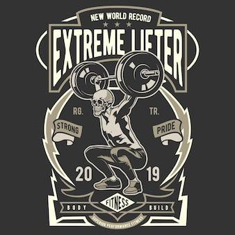 Logotipo de extreme lifter
