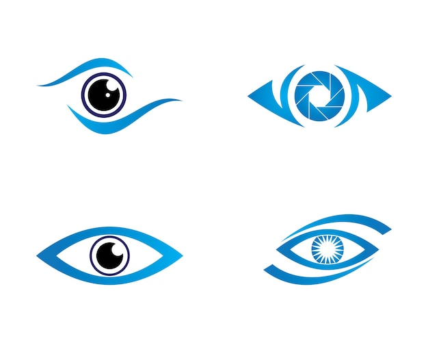 Logotipo de eye care