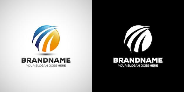 Logotipo de finanzas de empresa comercial