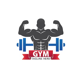 Logotipo de fitness gym