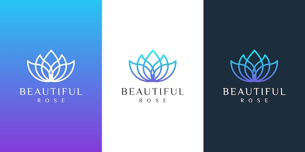 Logotipo de la flor
