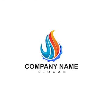 Logotipo de fuego