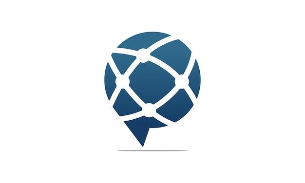 Logotipo geométrico
