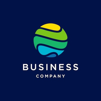 Logotipo de globe tech