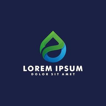 Logotipo de gota de agua