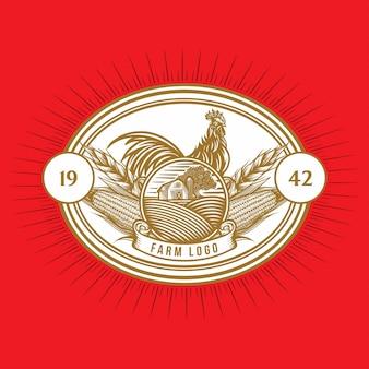 El logotipo del granjero