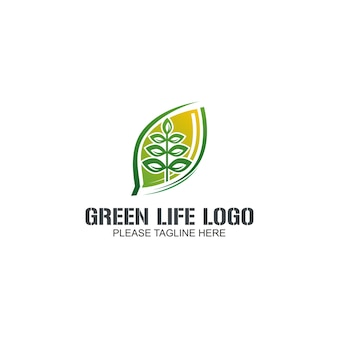 Logotipo de greem life