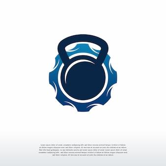 Logotipo de gym gear