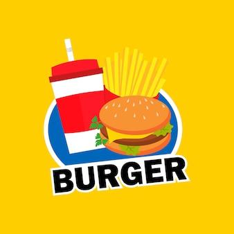 Logotipo de la hamburguesa