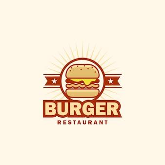 Logotipo de hamburguesa