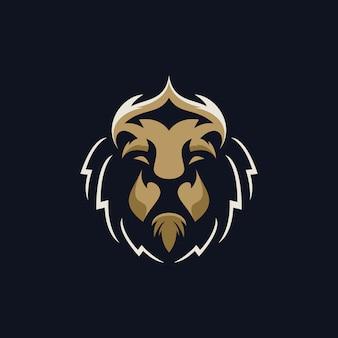 Logotipo de head lion