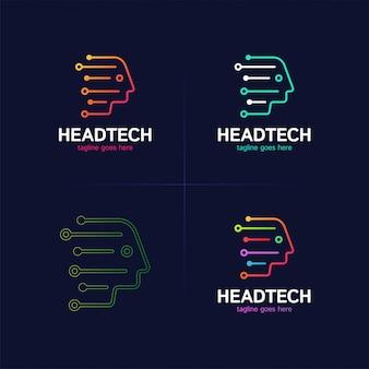 Logotipo de head tech