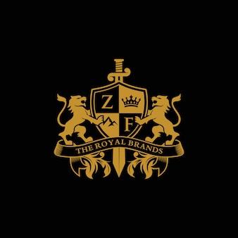 Logotipo de la heráldica del león