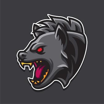 Logotipo de hiena