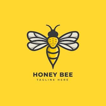 Logotipo de honey bee