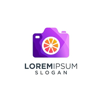 Logotipo del icono de la cámara