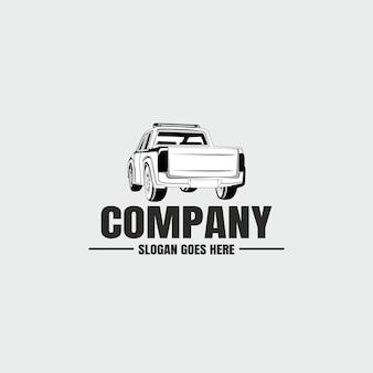 Logotipo de la industria automotriz de automóviles