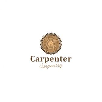 Logotipo de la industria de capenter