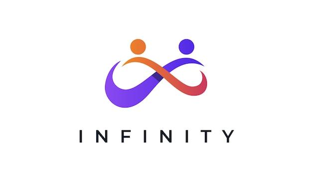 Logotipo de infinity fitness