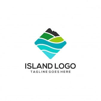 Logotipo de la isla