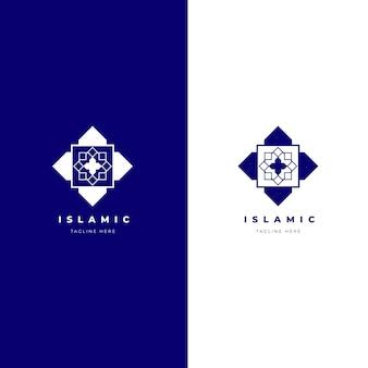 Logotipo islámico en dos colores