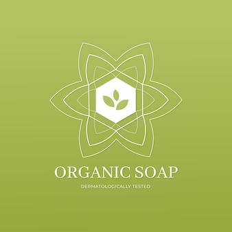 Logotipo de jabón orgánico