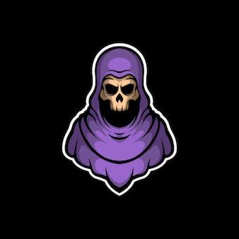 Logotipo de juego grimreaper