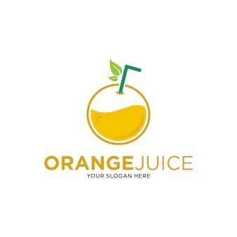 Logotipo de jugo de naranja, inspiración