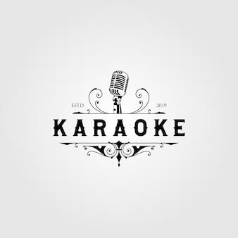 Logotipo de karaoke