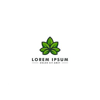 Logotipo de laboratorio de cannabis