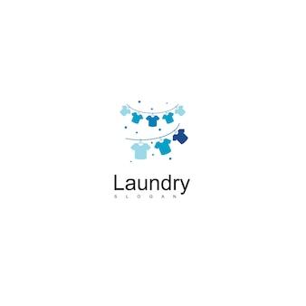 Logotipo de lavandería