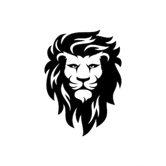 Logotipo de león plantilla de vector