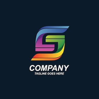 Logotipo de la letra c y j