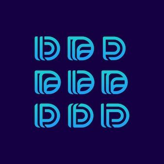 Logotipo de la letra d