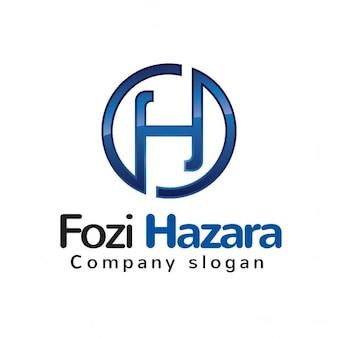 Logotipo con la letra h