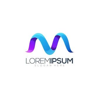 Logotipo de la letra m