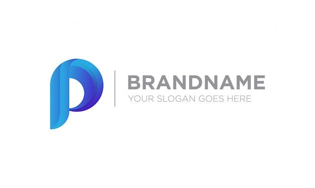 Logotipo de la letra p