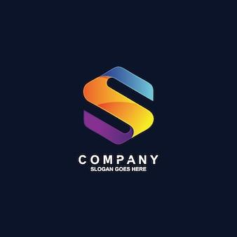 Logotipo de la letra s