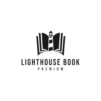 Logotipo del libro del faro