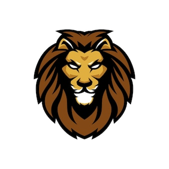Logotipo de lion guard esports