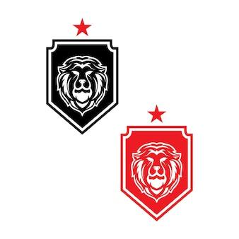 Logotipo lion security