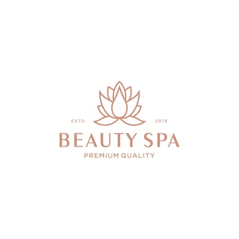 Logotipo de lotus spa