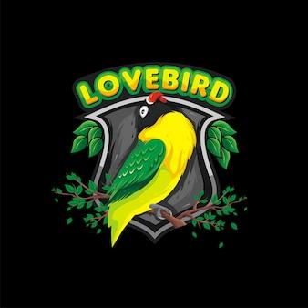 Logotipo de lovebird