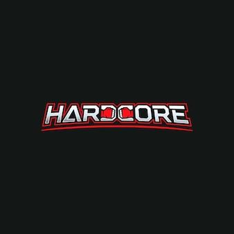Logotipo de lucha. logotipo moderno para la liga de lucha o el gimnasio con puños en el espacio negativo.
