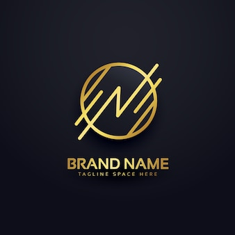 Logotipo de lujo branding